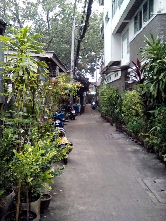 bangkok visite voyage tourisme vie nomade ruelle