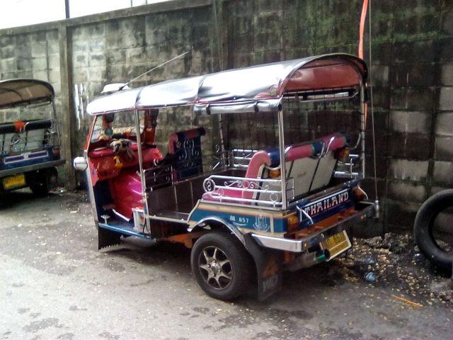 bangkok voyage tuktuk