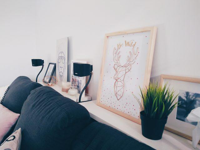 deco hygge simplicite salon chambre