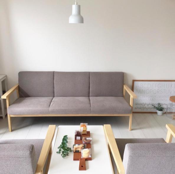 deco salon minimaliste japon mobilier