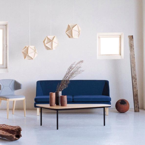 decoration minimaliste luminaire saon meubles