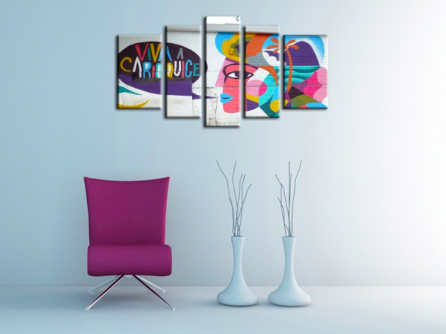 hexoa tableau decoration contemporaine
