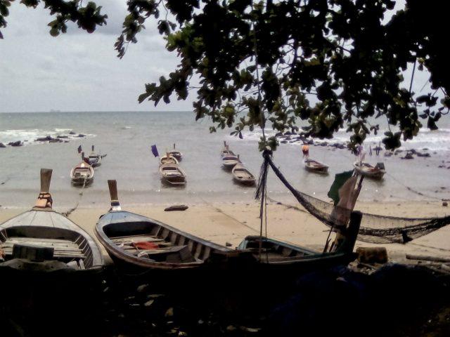 koh lanta bateau ocean indien thailande paradis vie nomade