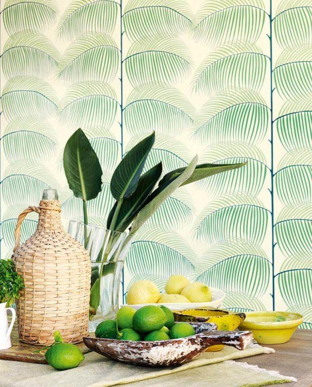 papier peint cuisine decoration conseils