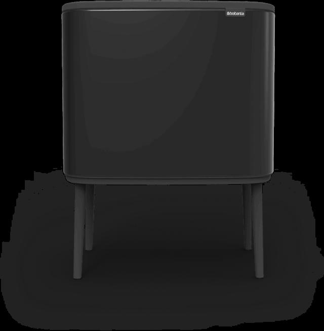 poubelle bo touch bin noire