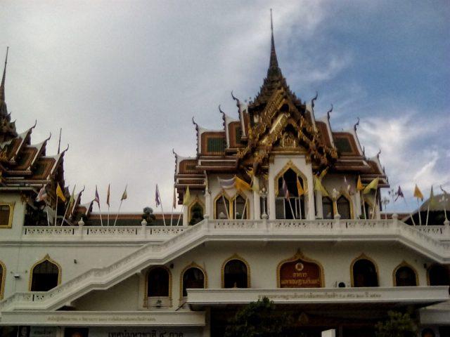temple thailande bangkok voyage tourisme vie nomade