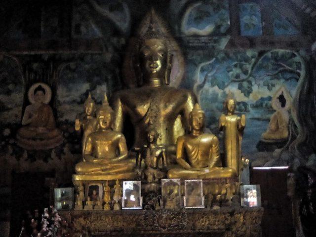 bouddha luang prabang temple laos
