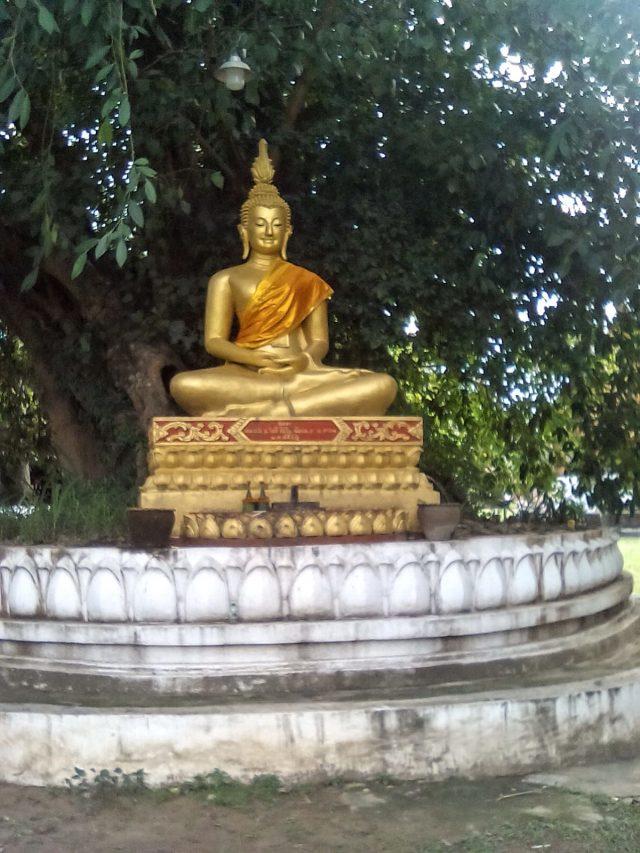 bouddha temple vat luang prabang laos