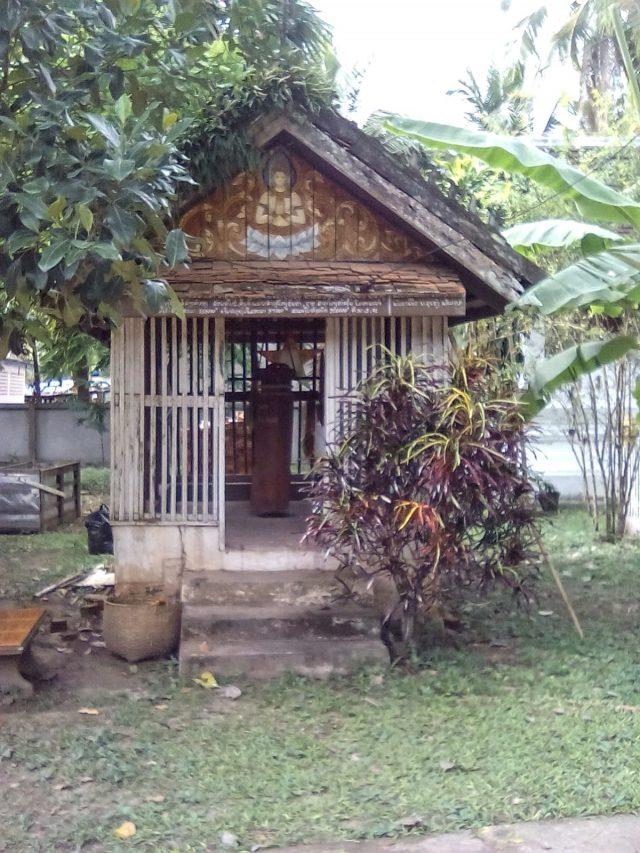 bouddhisme luang prabang laos detail jardin