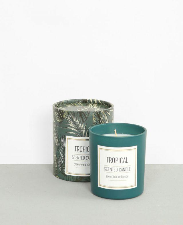 cadeau deco noel pas cher bougies parfumees