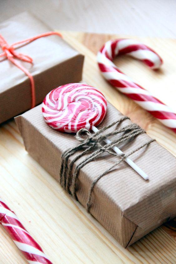 cadeau emballage idee bonbon
