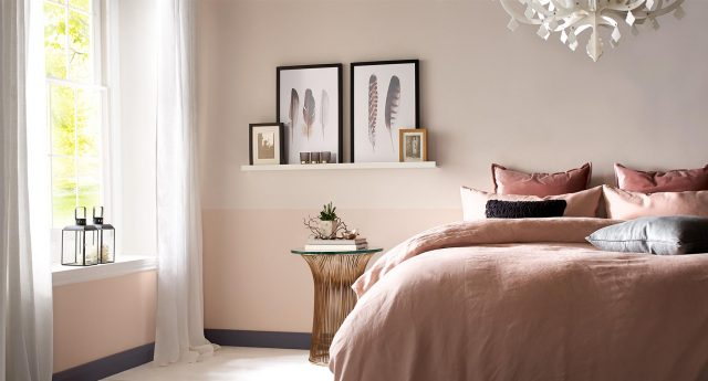 chambre rose deco blush inspiration