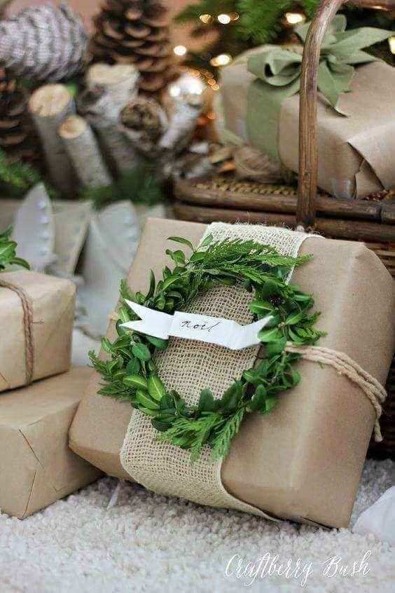 emballage cadeau inspiration matiere