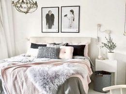 idee decoration chambre blush rose