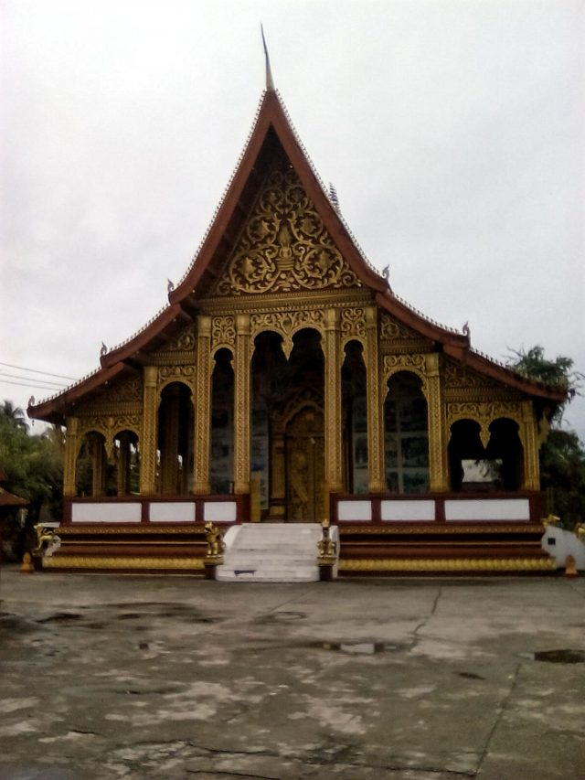 temple bouddhiste luang prabang architecture toiture