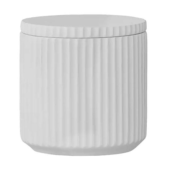 boite ceramique decoration cuisine blanc