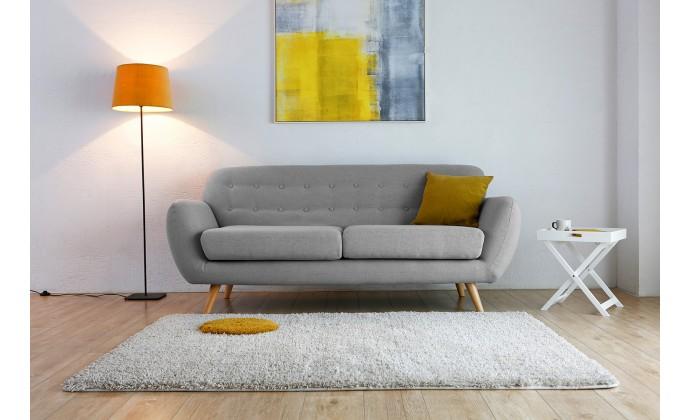 Pour du mobilier dans la tendance cocon de for Decoration canape gris