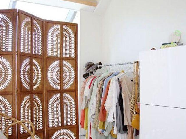 un paravent pour la chambre cocon de d coration le blog. Black Bedroom Furniture Sets. Home Design Ideas
