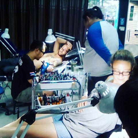 voyage chiang mai tatouage asie