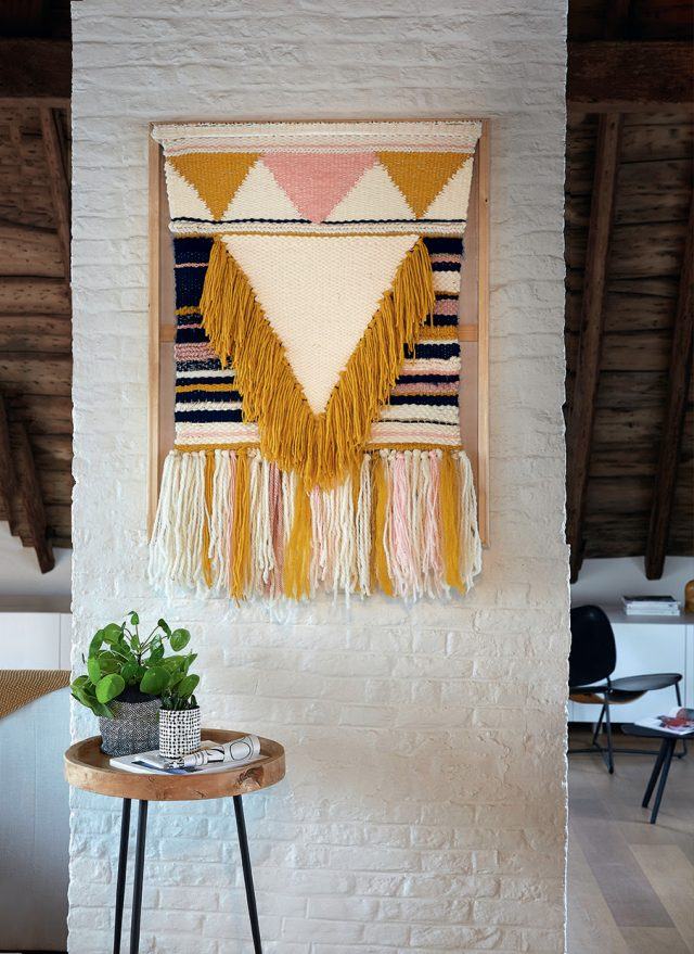 deco laine diy phildar decoration murale