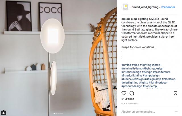 deco lampadaire design sobre instagram
