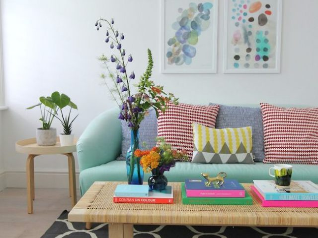 deco mobilier couleur