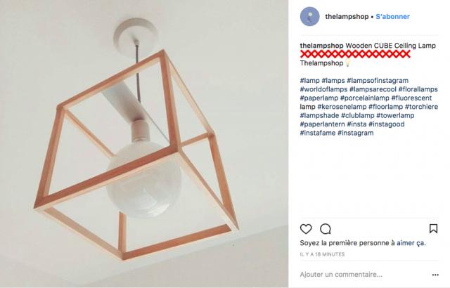 deco suspension bois minimaliste instagram