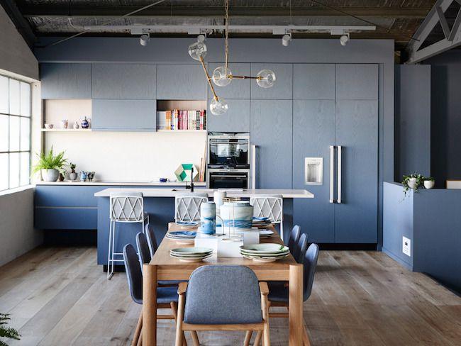 idee deco cuisine bleue inspiration