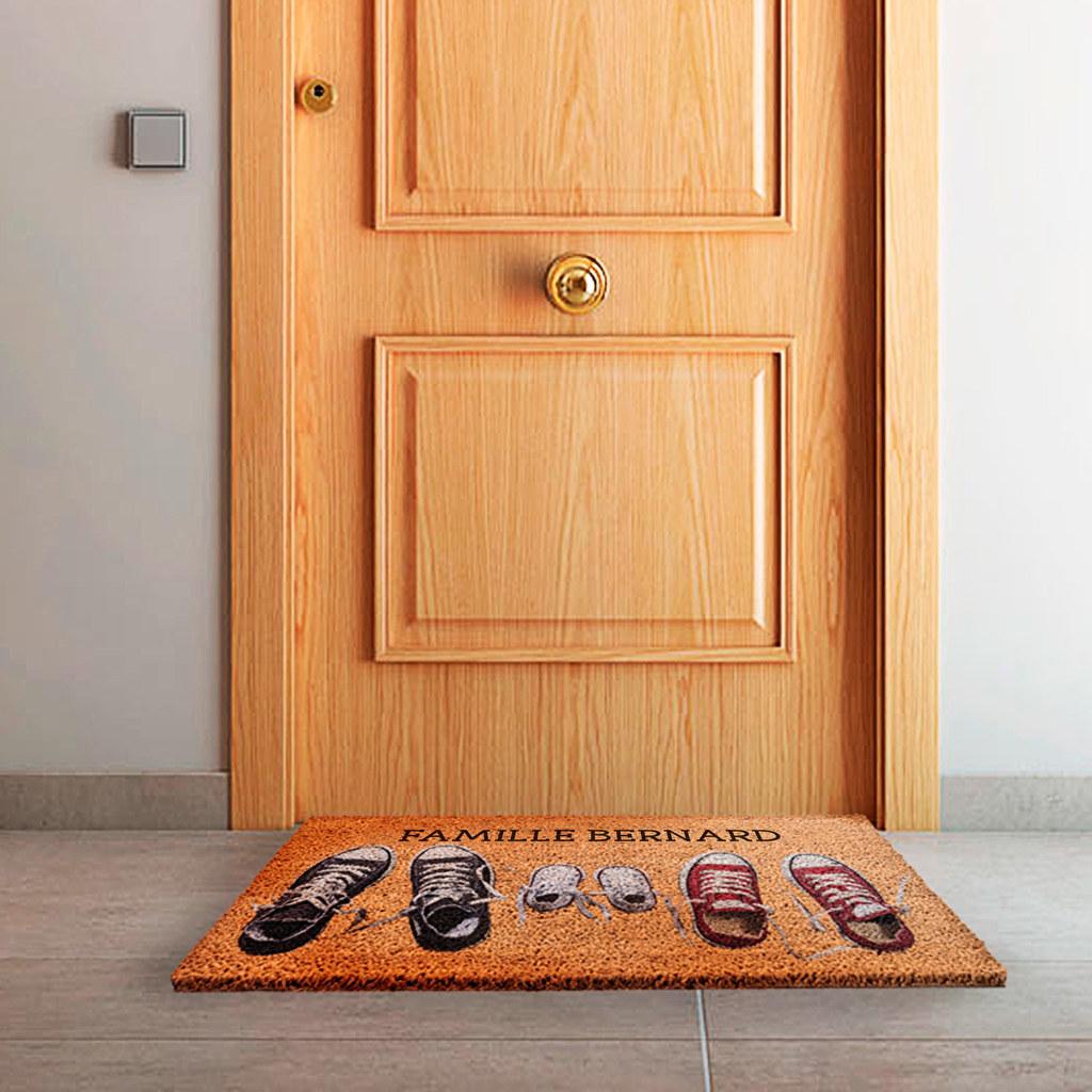 shopping deco personnalisez votre paillasson cocon d co vie nomade. Black Bedroom Furniture Sets. Home Design Ideas