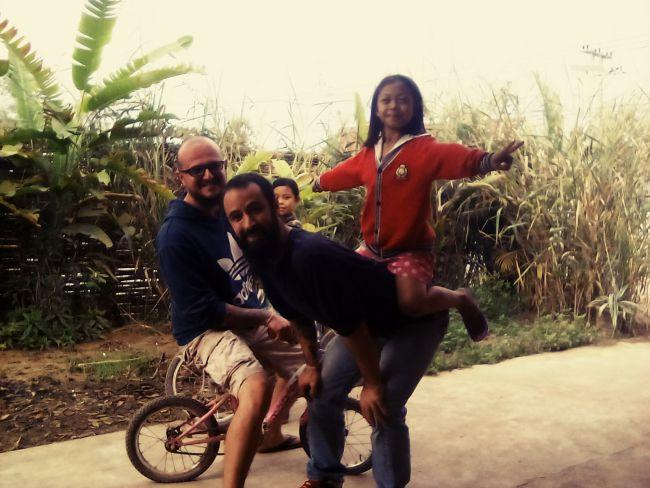 quotidien nomade chronique Cocon janvier 2018 Laos et thailande