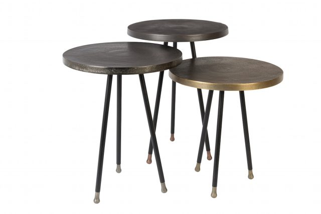 table gigogne appoint metal tendance deco