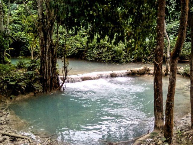 waterfall asie luang prabang