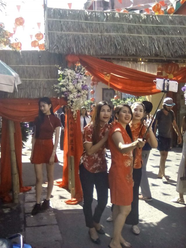 chiang mai thailande nouvel an chinois
