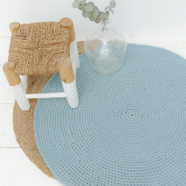 deco tapis laine phildar diy