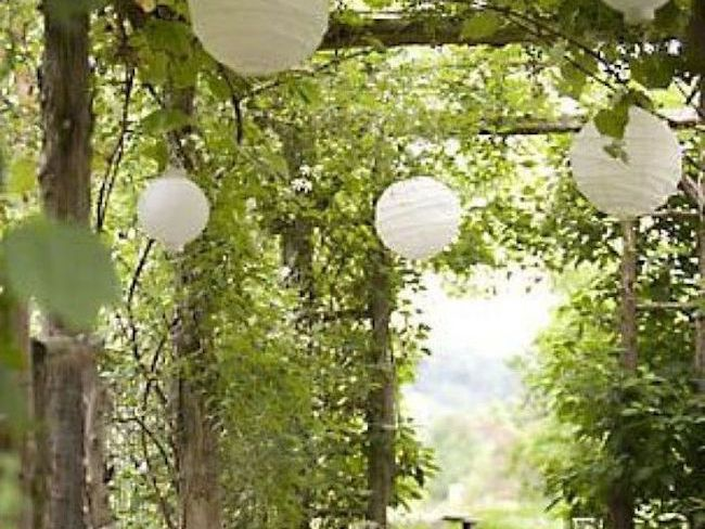 idee jardin volume structure diy
