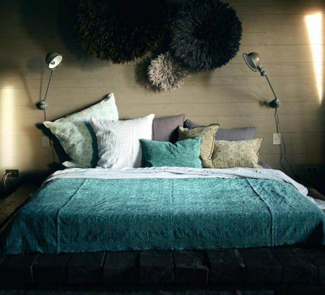 linge de lit maison de vacances