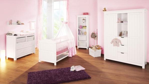 mobilier chambre bebe blanc