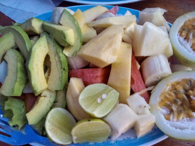 salade luang prabang legume et fruits