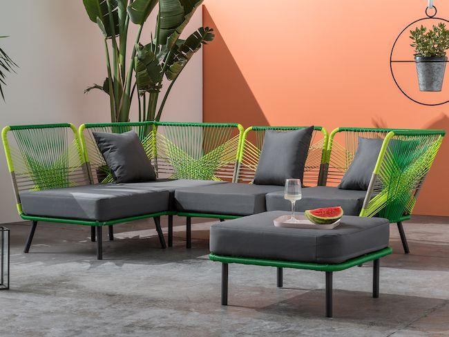 mobilier de jardin design finest amazing mobilier jardin. Black Bedroom Furniture Sets. Home Design Ideas