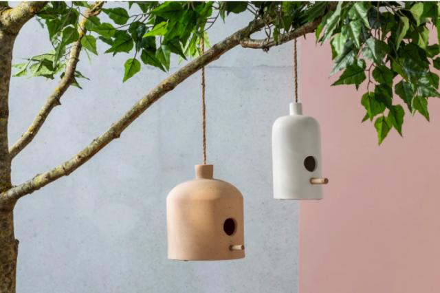 nichoir oiseau jardin deco