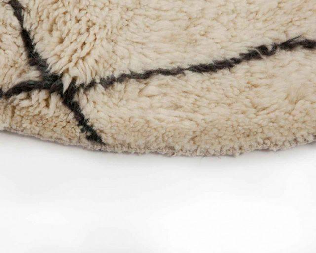 tapis en laine berbere deco
