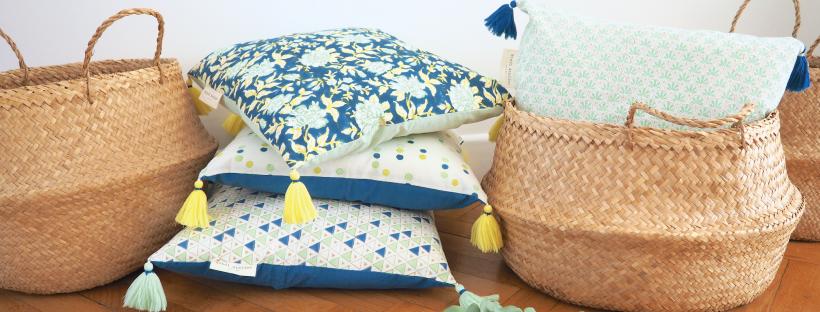 bindi atelier decoration coussin textiles