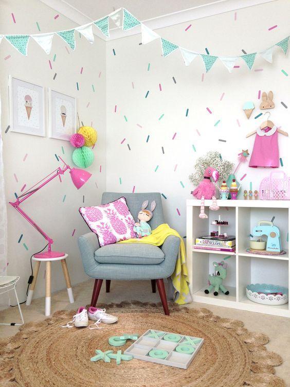 une chambre d enfant color e cocon d co vie nomade. Black Bedroom Furniture Sets. Home Design Ideas