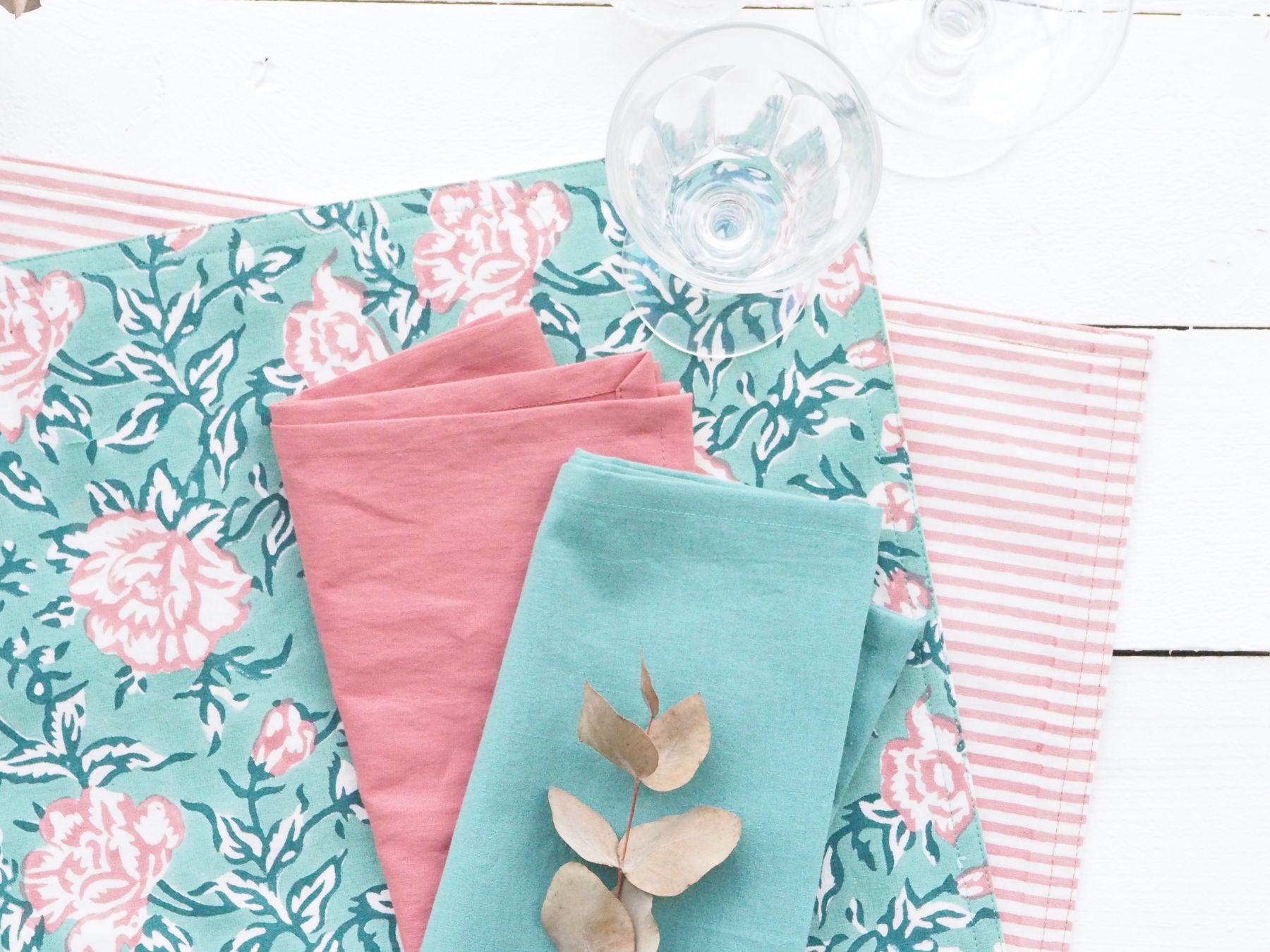 déco table textile bindi atelier
