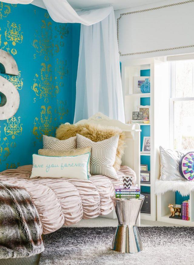 decoration enfant chambre couleur