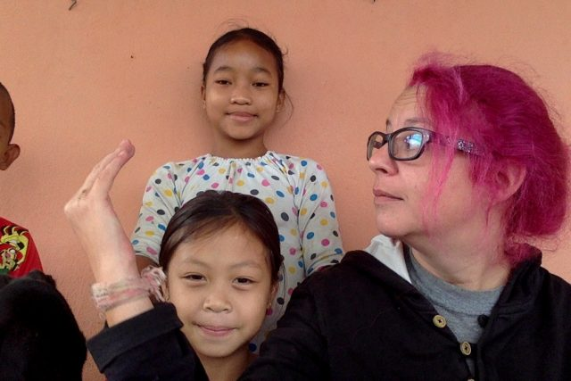 enfant laos quotidien nomade