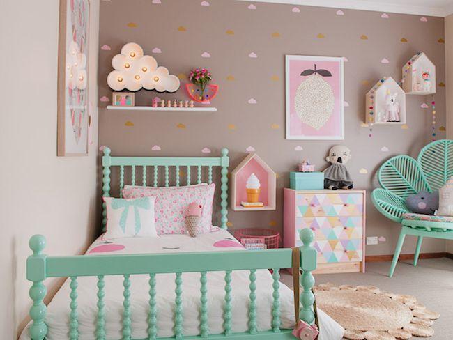 Une chambre d\'enfant colorée | Cocon - déco & vie nomade