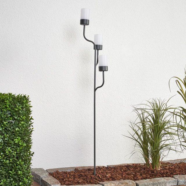 chandelier deco jardin