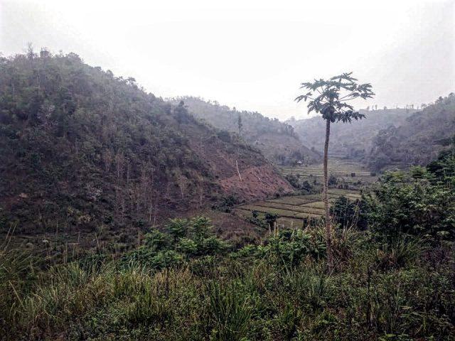 laos voyage paysage village