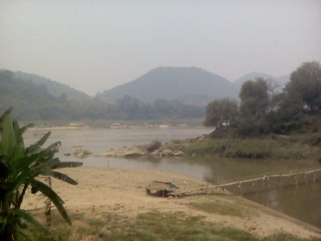mekong nam kan laos asie